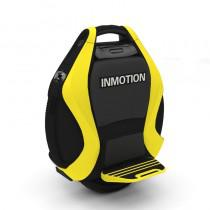 INMOTION V3 14 Inch Twin Wheel Self-Balancing Electric Unicycle with Extensible Rod Yellow