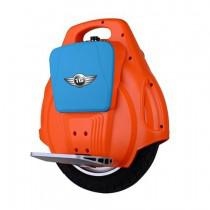 TG A8 Single Wheel Electric Unicycle 14 Inch Self-Balancing Scooter 132Wh LED Light Orange